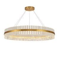 Moder Люстра Свет Роскошная гостиная лампа скандинавские хрустальные люстры атмосфера современный минималистичный креативный ресторан ламп