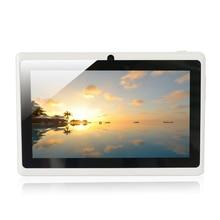 Nueva llegada de 7 pulgadas Tablet PC 8 GB Q88 Android 4.4, con Dual-core y Dual Camera1024 x 600 Pantalla Táctil 2500 mAh (blanco)