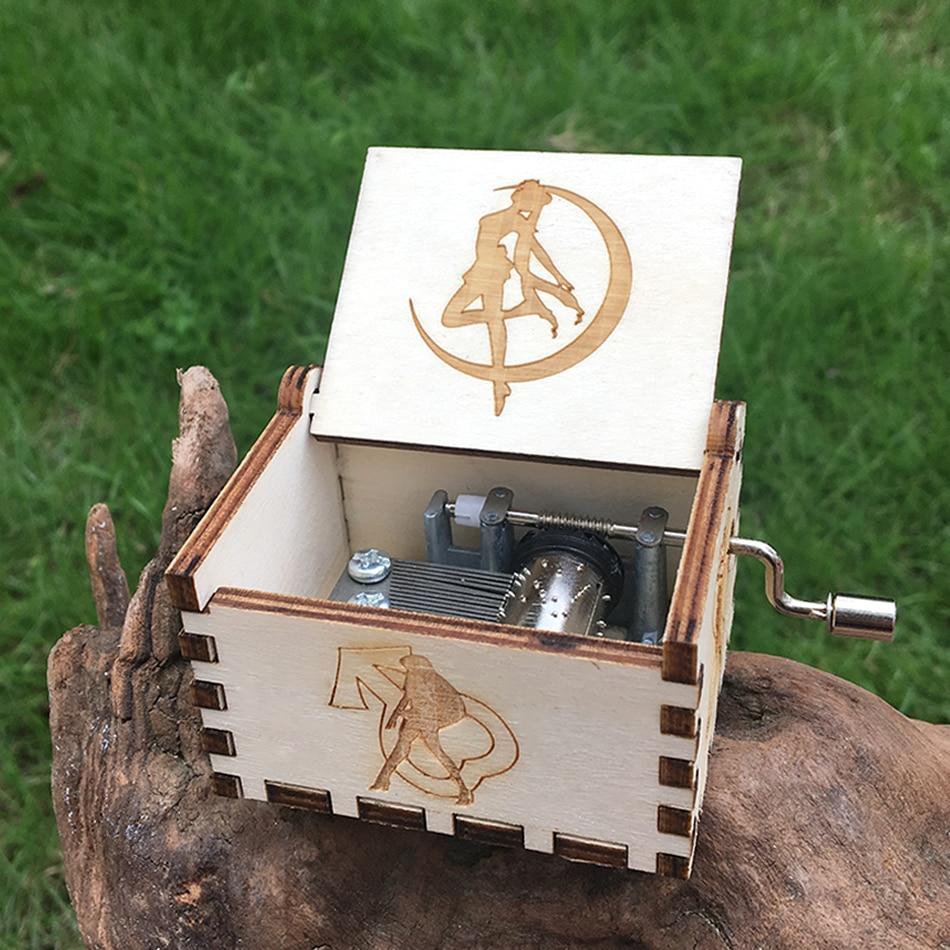 Aliexpress.com : Buy New Wood Music Box Sailor Moon Davy