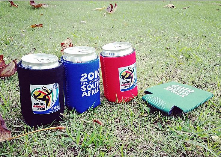 5 sztuk Outdoor camping Neoprenowe piwo puszka chłodząca Izolowany - Kemping i piesze wycieczki - Zdjęcie 1
