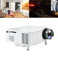 UC28B Universal 60 Inch Portable Mini LED Projector Home Cinema Theater Movie Video Projector with High Precision Coating Lens