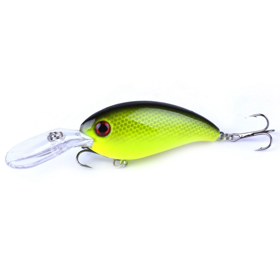 HENG JIA Sea fishing road Asian rock bait 10cm / 14g bait Luya plastic bait, Yellow ...