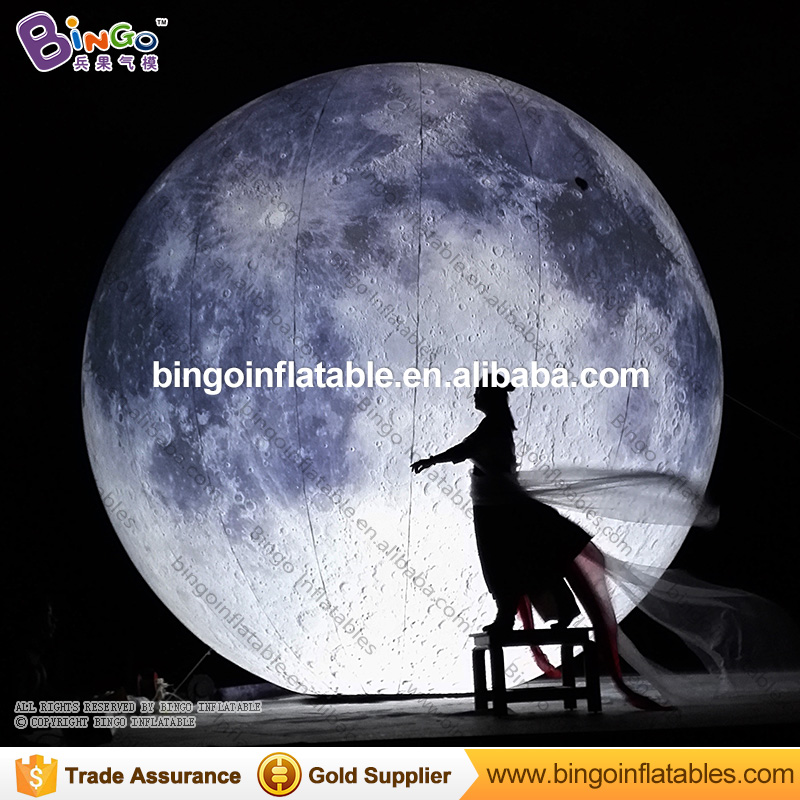 Customized size LED lighting inflatable moon balloon for party decoration romantic moon model toy for stage prop toy planetCustomized size LED lighting inflatable moon balloon for party decoration romantic moon model toy for stage prop toy planet