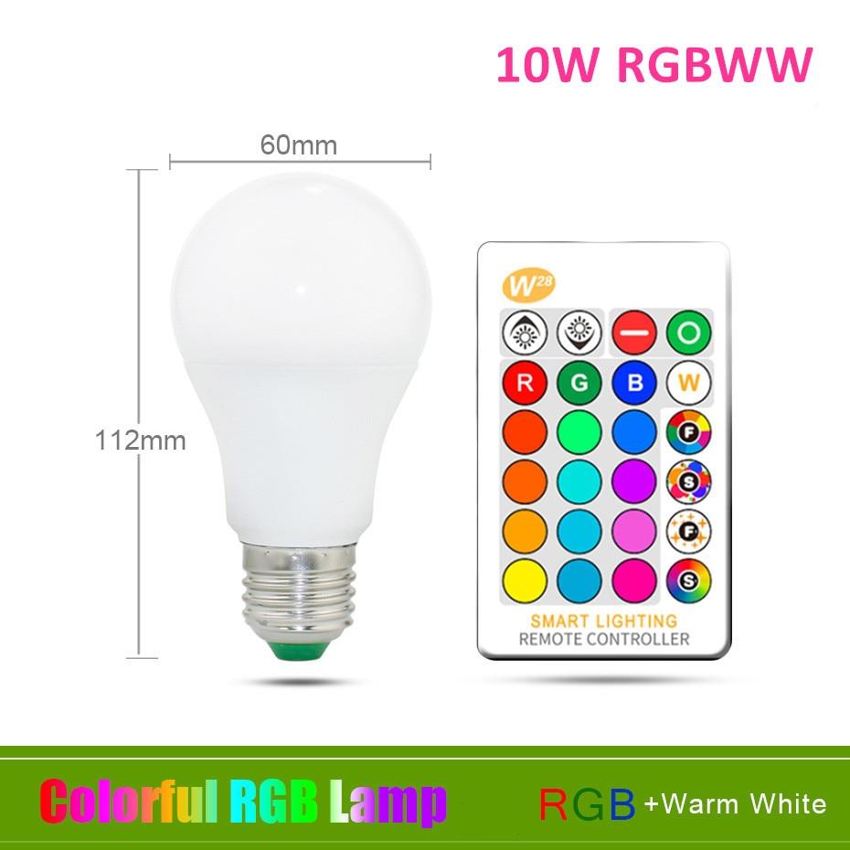 10W RGB Warm White