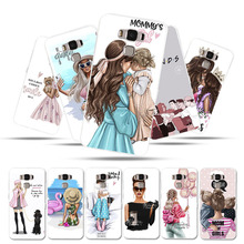 Phone Case For Asus Zenfone 3 Max ZC553KL X00DD X00DDA XOODD Zenfone3 Max Case Silicone Baby Mama Mouse Super Mom Girl Bags защитное стекло partner для asus zenfone3 max 5 5 zc553kl 9h