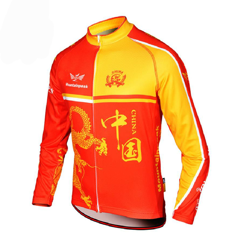Mountainpeak Riding Long Sleeves Top Spring and Summer Breathable Quick-drying Bicycle Coat