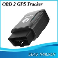 Deaoke TK206 free Shipping GPS306A (Black version) OBD gps tracker gps vehicle tracker obd 2 OBD II GPS Tracker
