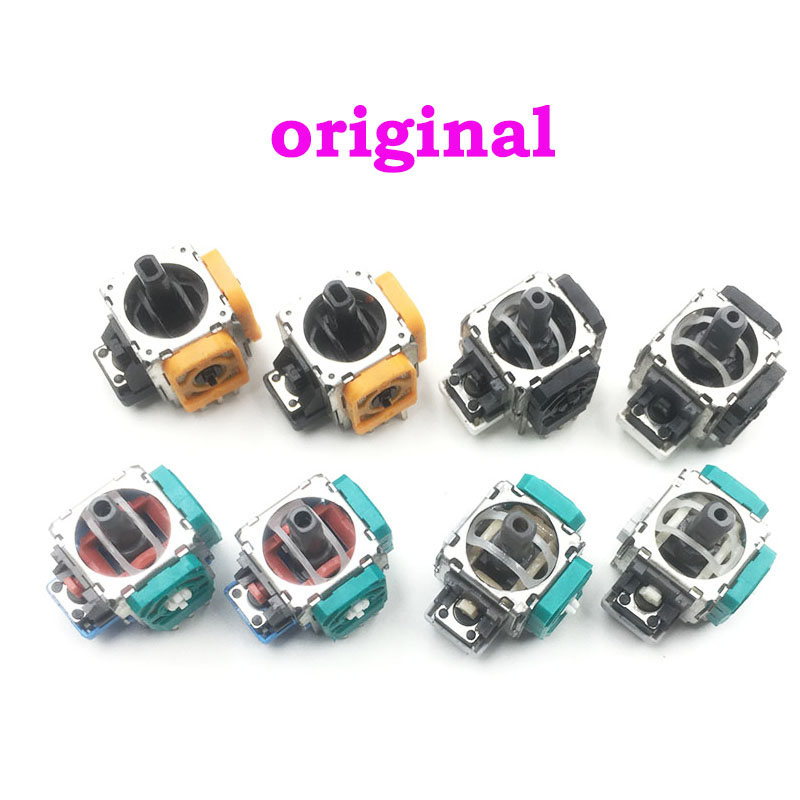 12PCS Original For XBOXONE Analog Joystick 3 Pin Sensor Module Potentiometer For PlayStation 3 4 PS4 PS3