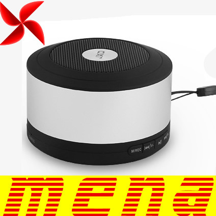 White JXD X16 Bluetooth Mini Chargeable Speaker Bass Stereo Multifunction Support FM Radio TF Micro Crad USB Disk Recording