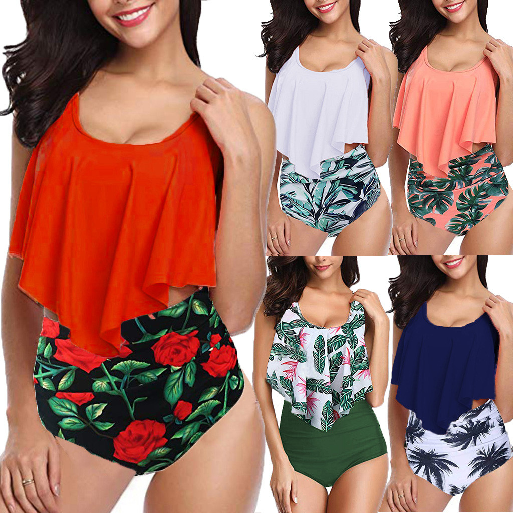 Rose Sarong Hawaii Maillot de bain Bikini Cover Up Tee T-shirt Cruise Parti costumes