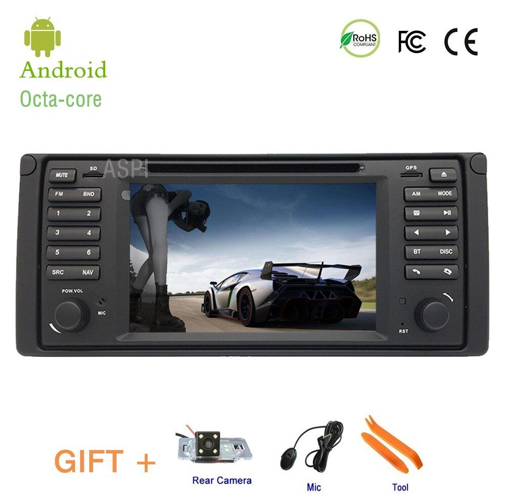 Lecteur dvd DE VOITURE Pour BMW E38 E39, android 8.0 8 Core 4G RAM 32G ROM navigation gps Stéréo IPS écran VOITURE lecteur multimédia