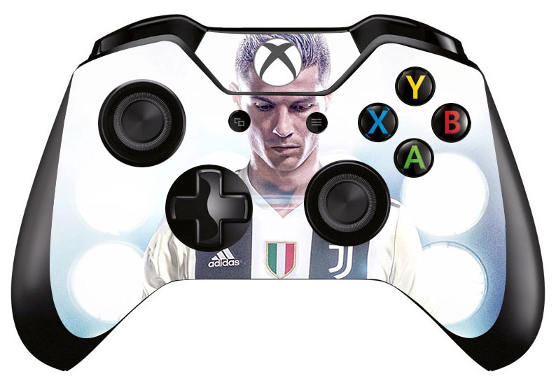 1pc Football Cr7 Skin Sticker Decal For Microsoft Xbox One Game Controller Skins Stickers For Xbox One Controller Vinyl