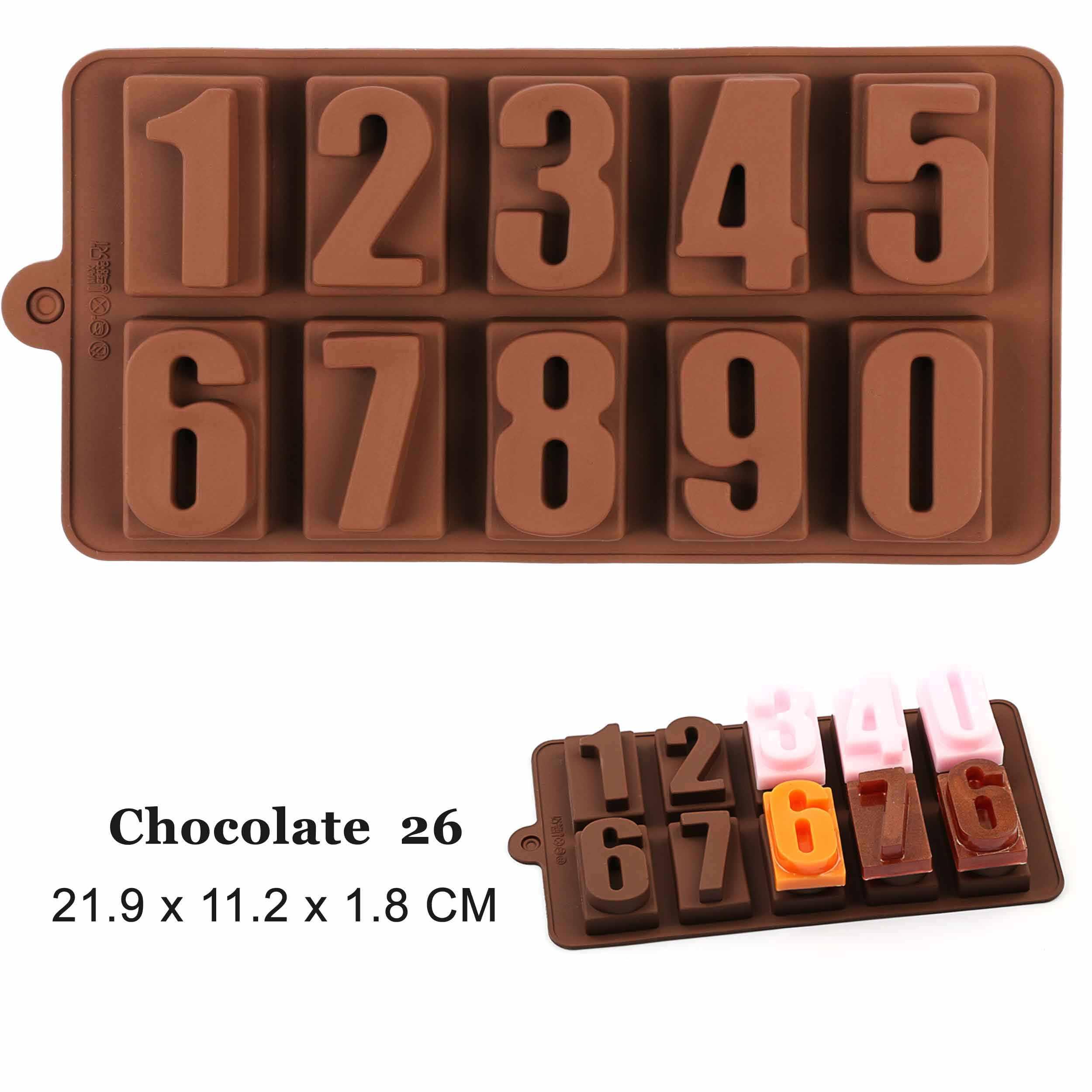 Nuovo stampo per cioccolato in Silicone 29 forme strumenti per cottura al cioccolato stampo per dolci in Silicone antiaderente stampo per gelatina e caramelle stampo 3D fai da te migliore
