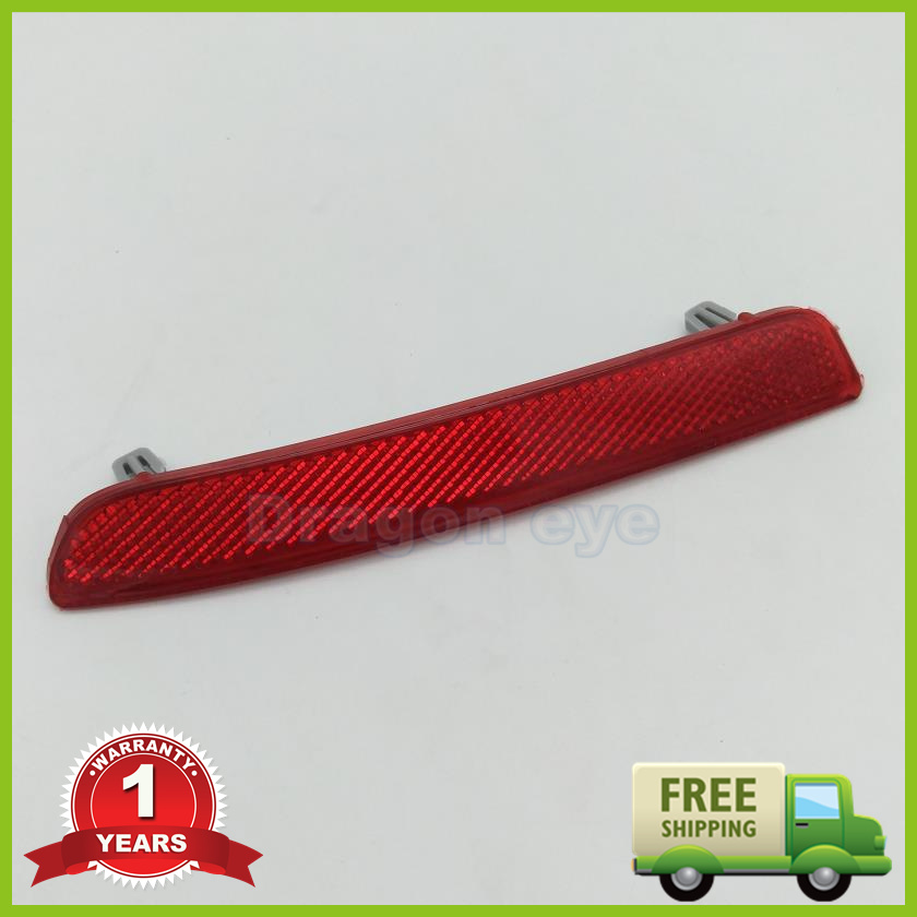 For VW Jetta 5 MK5 2006 2007 2008 2009 2010 2011 Car Rear Tail Bumper Corner Reflector Decorative False Light Lamp Right Side free shipping for skoda octavia sedan a5 2005 2006 2007 2008 left side rear lamp tail light