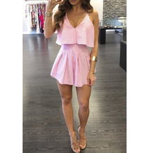 Summer New V-Neck Hollow Out Garments Girls Sexy Mordern Normal Sexy Night Party Casual Mini Dresses M8128