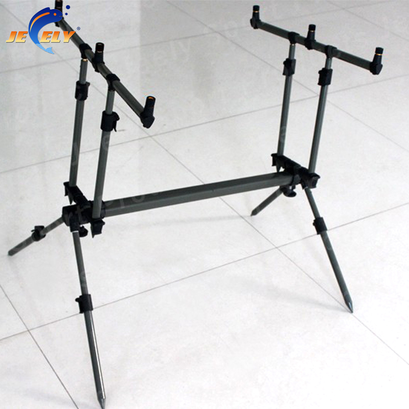 Free Shipping JY119-2 Adjustable Alumimum Carp Fishing Rod Pod,Bite alarm Rod Pod подставка hoxwell hl208 rod pod