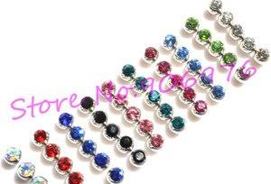 Image 1 - New Eyebrow Ring TONGUE Bar Lip Stud Ball Gem Fashion Body Piercing Jewelry  Piercing accessory 1.6*6mm 1.2*3mm Free Shipping