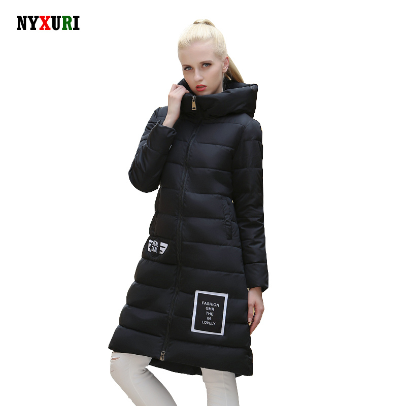 2016 Winter Women parka wadded jacket New Specials thickening Warm Luxury Long Cotton Padded Down Coats