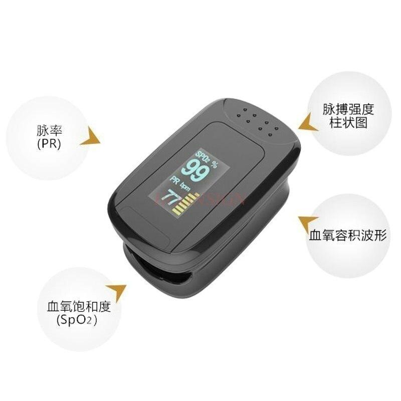 Gesundheitsversorgung Heim-gesundheitsmonitor Finger Kneifen Oximeter Herz Rate Schlaf Monitor Herz Rate Puls Sauerstoff Finger Clip-typ Herz Rate Meter Sättigung Detektor