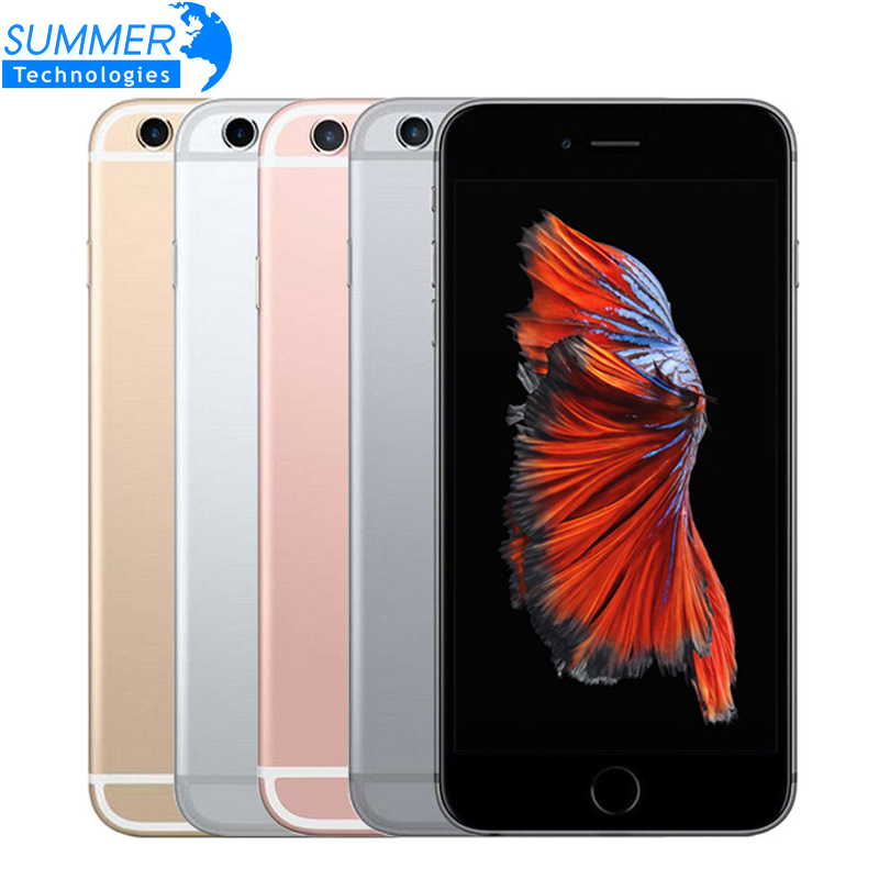 Original Unlocked Apple iPhone 6S Mobile Phone IOS Dual Core 4.7'' 12.0MP Camera 2GB RAM 16/64/128GB ROM 4G LTE Used Smartphone(China)