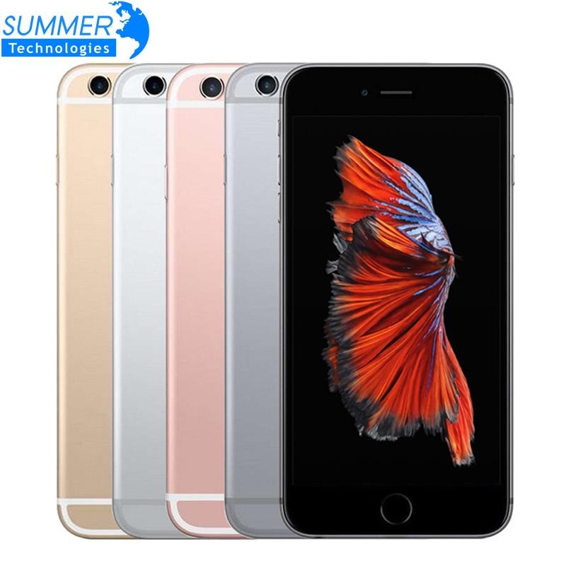 Original Débloqué Apple iPhone 6 s Téléphone Portable IOS Dual Core 4.7 ''12.0MP Caméra 2 gb RAM 16/ 64/128 gb ROM 4g LTE Utilisé Smartphone