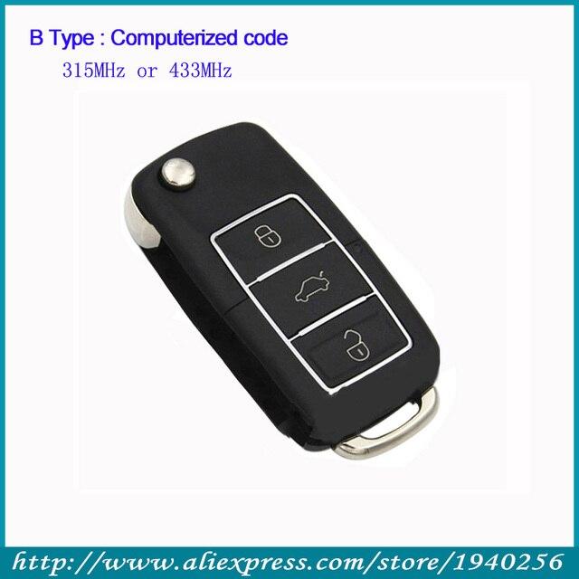 Car Alarms System 315mhz 433mhz Computer Code Remote Control Garage