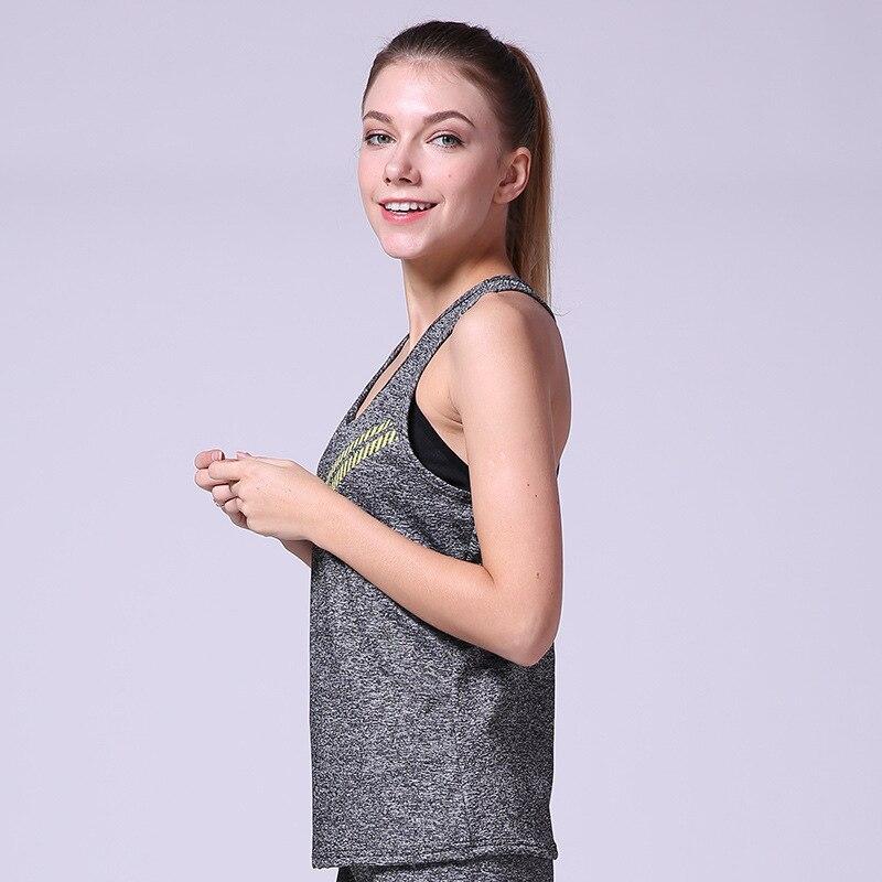 Yoga Top Sport T Shirt Yoga Shirt Women Sports Jersey Fitness Gym Sleeveless Vest Running Blouse Running Tank Sports Sweatshirts