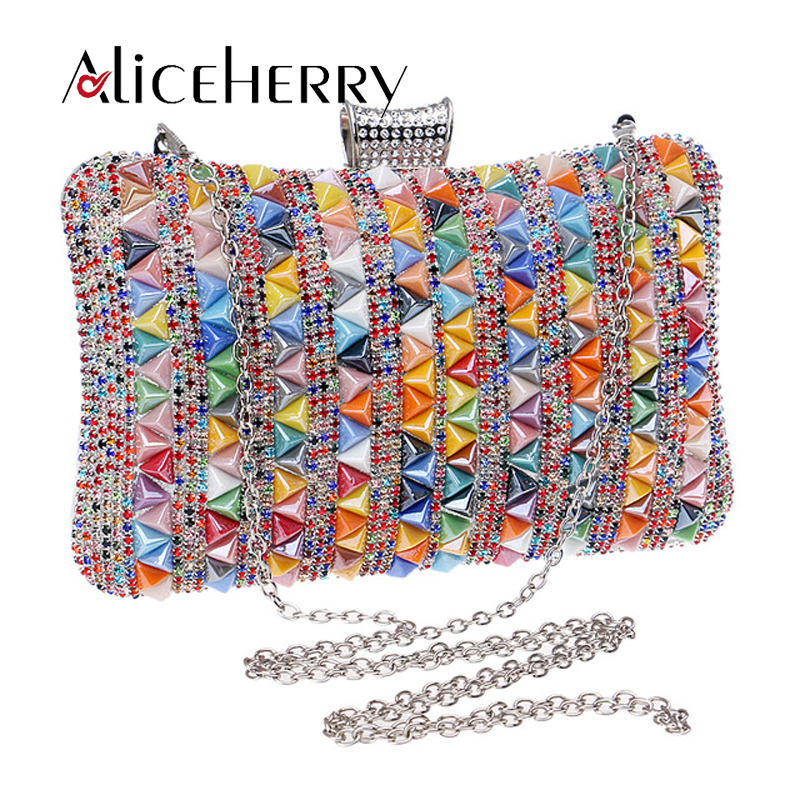 Luxury Handbags Women Bags Designer High Quality Fashion Clutch Diamond Beaded Bag Rhinestone Shoulder Bags