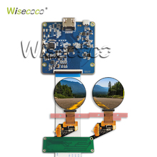 Wisecoco Real AMOLED Display, 1.39 inch  Round Circle Circular OLED LCD Module Screen 400*400 with HDMI MIPI Interface RM69080 5 5 inch 4k 2160x3840 uhd lcd module mipi interface lcd screen display panel ls055d1sx05 g