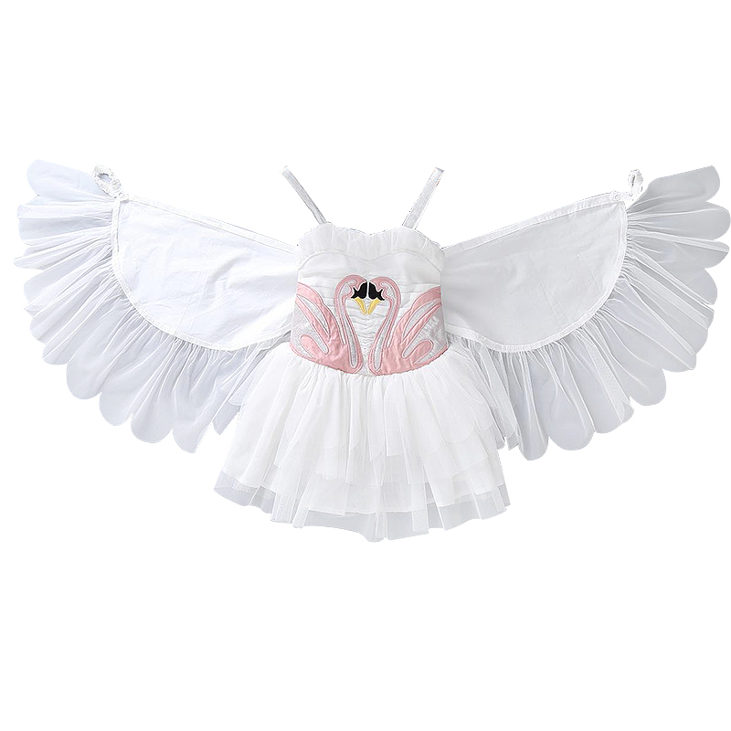 Flamingo ins Girls Summer dresses baby Removable Angel Wings dresses White short Mini Tutu dress Kids Clothes Ballet dress mks gen l v1 0 integrated mainboard mks gen l v1 0 compatible ramps1 4 mega2560 r3 with 5pcs tmc2100 v1 3 stepper drivers