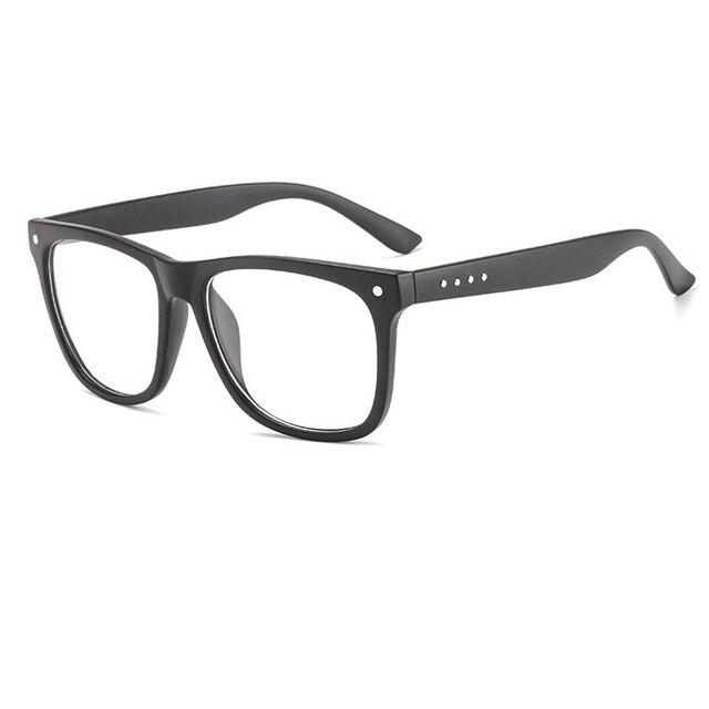 f368bfde3e New Retro PC Square Eyeglasses Frames Men Women Optical Plain Mirror Eye  Glasses Frame for Myopia Glasses 4 colors black brown