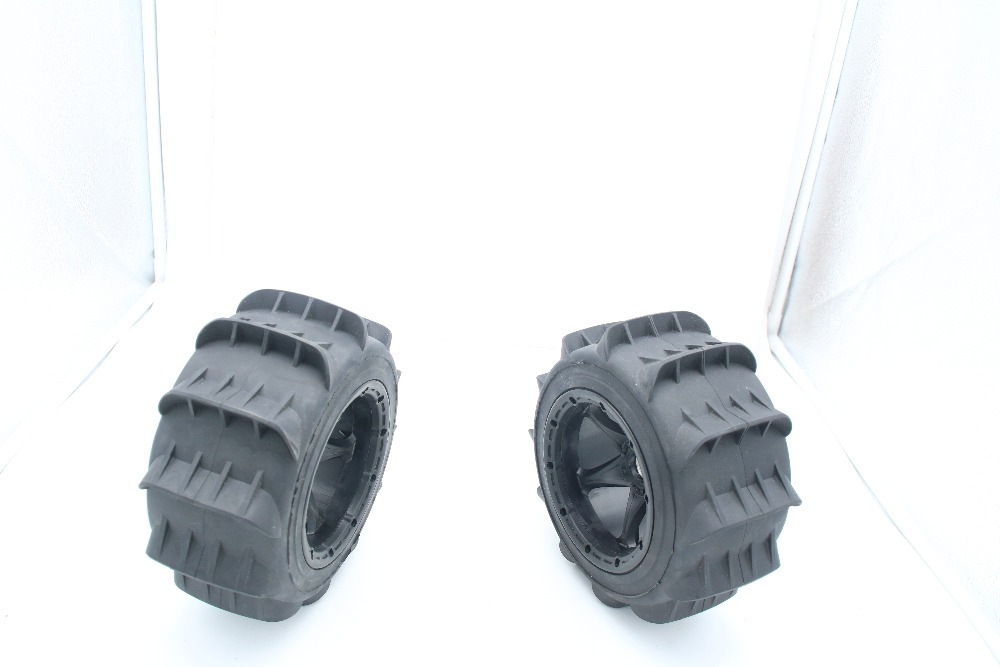 front And Rear Same New Generation Sand Buster Tyres Paddle Wheel Tires For 1/5 Hpi Rovan Km Baja 5b 5t 5sc Rc Car Parts