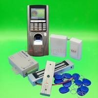 DIY Complete Fingerprint Rfid Card Door Access Control System 350lbs 180kg Electric Magentic Lock Door Control