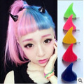 2017 2pc/lot Japan small demon hair card fluorescent resin horns hairpin hairpin car styling hair accessories diagnostic-tool