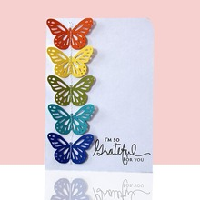A butterfly Metal Cutting Dies Stencils for Scrapbo