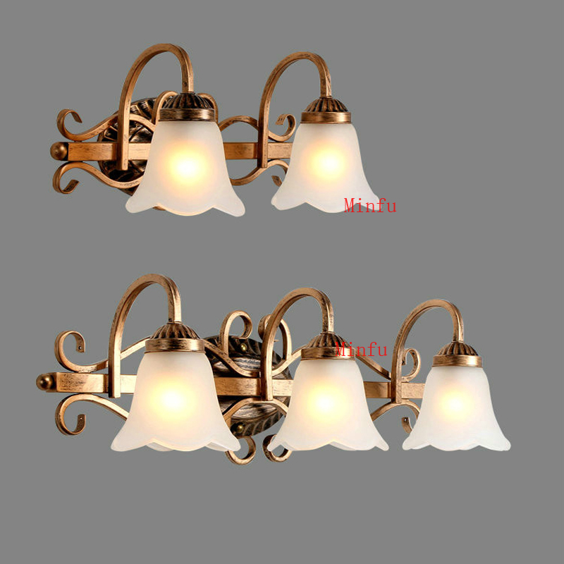 Wall lamp LED bedroom bedside lamp living room stairways hotel wall sconce bathroom mirror front light Dresser Mirror lights 40cm 12w acryl aluminum led wall lamp mirror light for bathroom aisle living room waterproof anti fog mirror lamps 2131