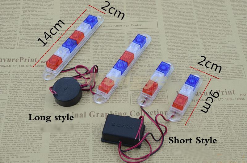 MOTOWOLF Lampa błyskowa LED motocyklowa Lampa ostrzegawcza Strobe - Akcesoria motocyklowe i części - Zdjęcie 2