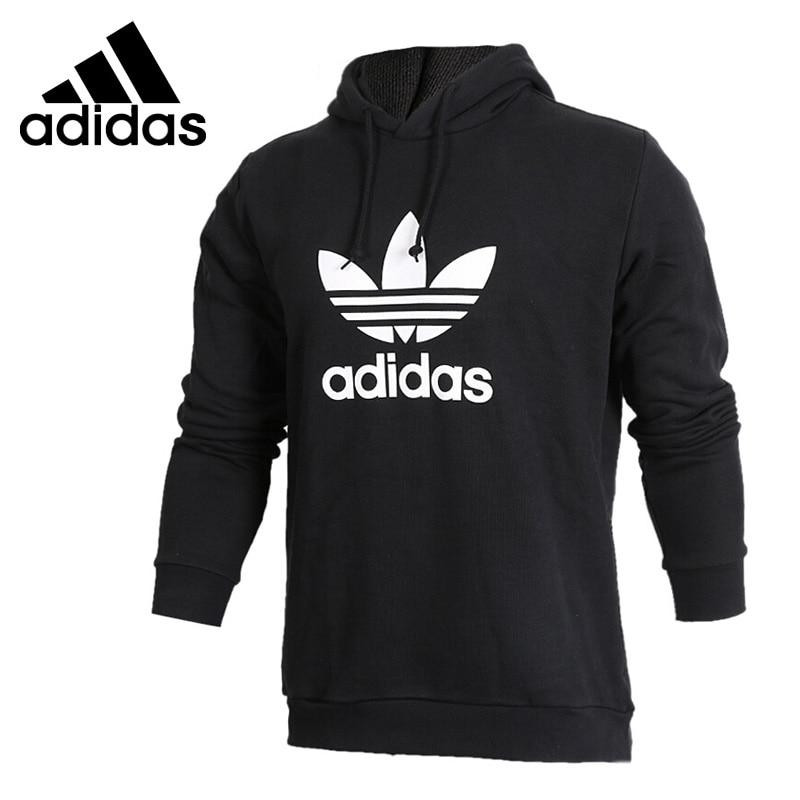 Original New Arrival 2018 Adidas Originals TREFOIL HOODY Men's Pullover Hoodies Sportswear рюкзак спортивный adidas trefoil цвет бордовый 23 л bk6728