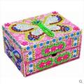 Kingtoy Kids EVA Mosaics Sticky DIYJewelry Box Educational Children handmade Diy Stickers Toy