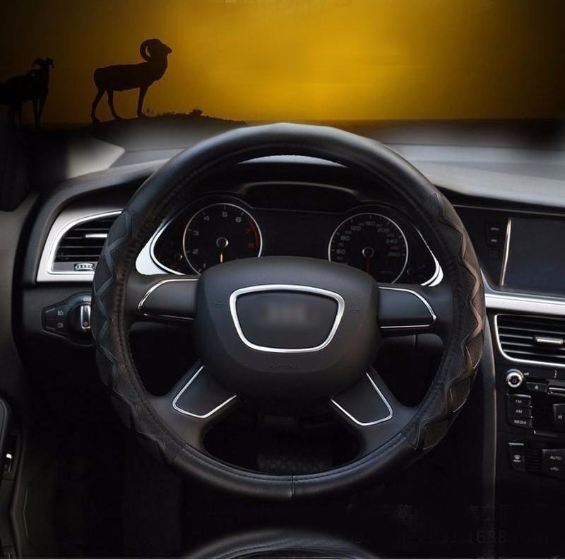 01 Car Steering Wheel Cover