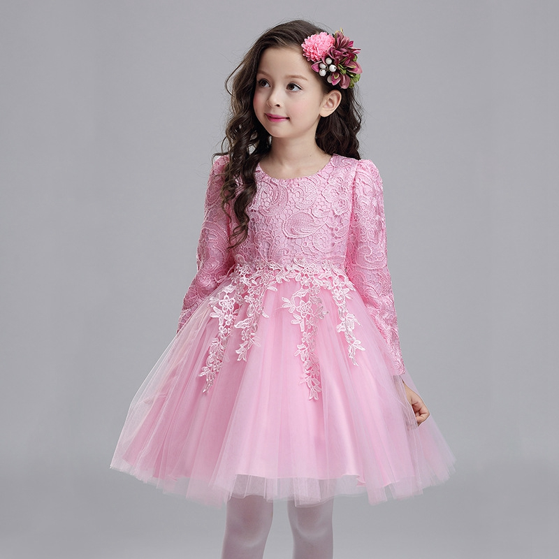 Teens Winter Velvet Vintage Princess Girls White Dress For ...