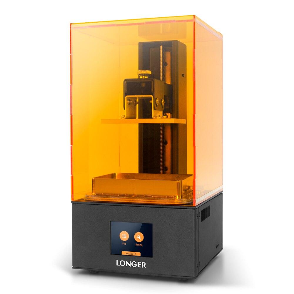 Imprimante 3D plus longue Orange 10 LCD SLA imprimante 3D Support intelligent résine de tranchage rapide impression 3D photopolymérisation UV facile à utiliser