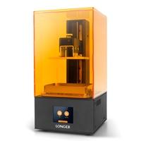 Longer Orange 10 LCD 3D Printer SLA 3D Printer Smart Support Fast Slicing Resin 3D Printing UV Light Curing Easy Operate