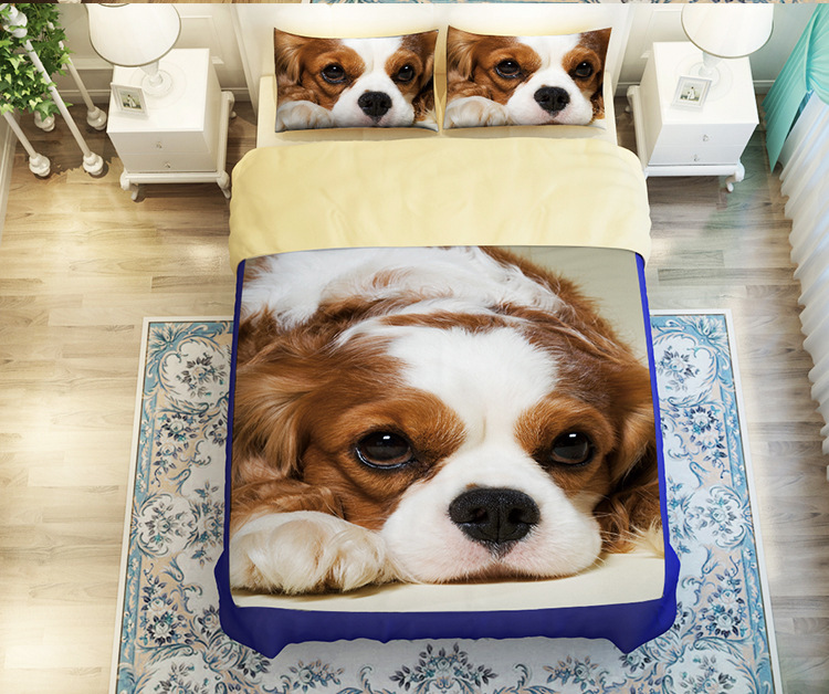 l u c casa d animal lindo juego de cama edredn conjunto juego de sbanas funda de almohada animal diseo tamao de la reina