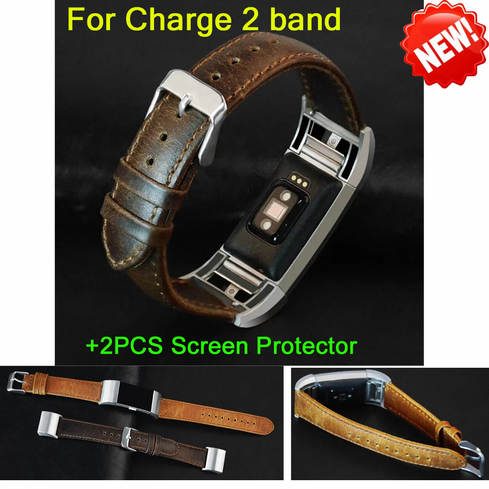 new arrival leather strap watchband for fitbit charge 2 band wristband for charge 2 strap heart. Black Bedroom Furniture Sets. Home Design Ideas