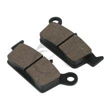 Rear Brake Pads For Honda SL 230 CRM XLR XR 250 NX4 Falcon XR400 XR600 XR650 SUZUKI RM 125 RM250 RMX DR-Z 400