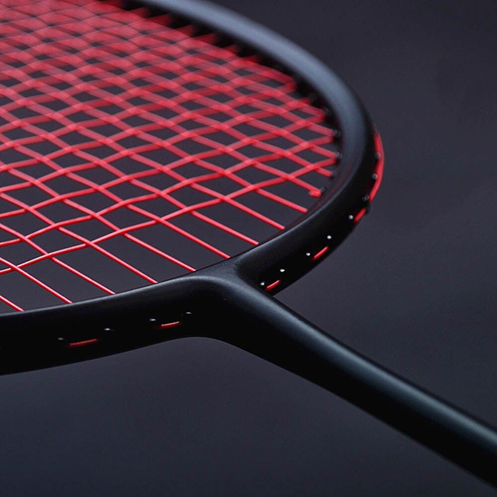 sports professional badminton racket light weight carbon rackets