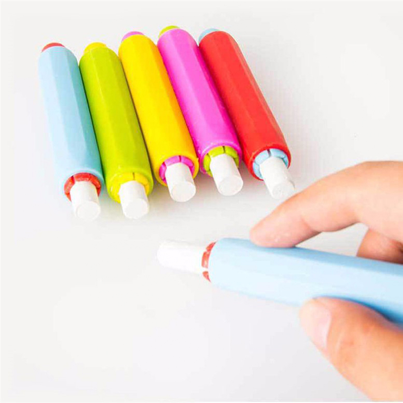 Chalk Holders Clean Teaching Hold For Teacher Gift Blackboard Holder For Chalk Children Home Education On Board School Supplies