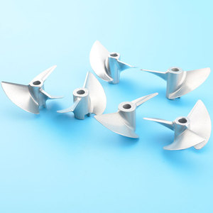 Image 3 - High Quality D36mm Rc 4mm Propeller CNC Machined 2/3 blades Prop Alloy Propeller/Screw For 4mm Shaft Rc Boat