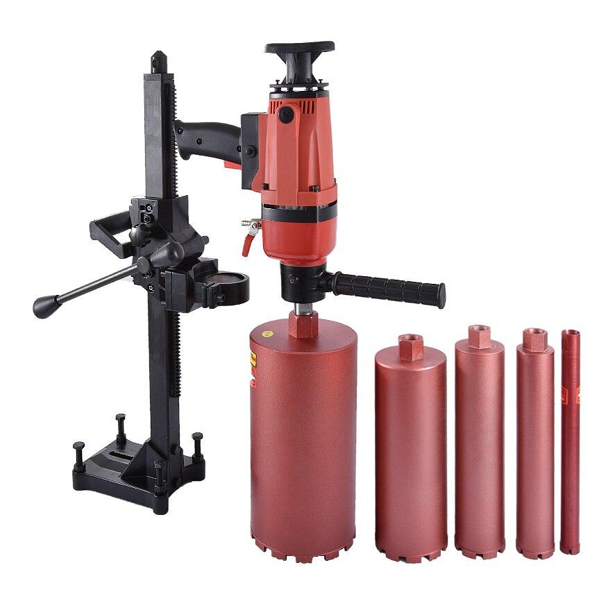 ZB-166A Double-but Core Forage Machine pour le Forage Humide Béton | Complexe de main et Machine De Bureau | 220 v 1900 W 166 MM
